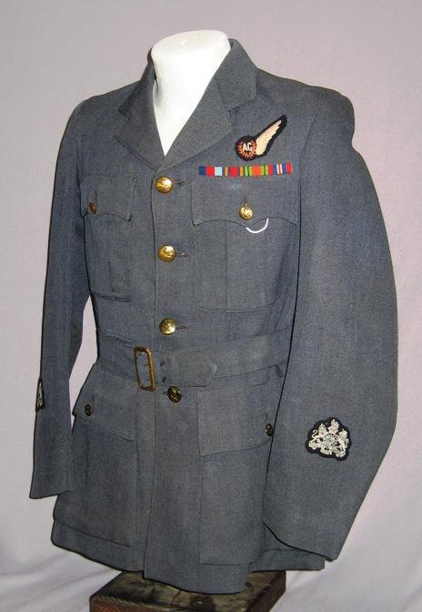 Royal Air Force RAF WO Air Gunner's Uniform Tunic WWII | eBay Royal Air Force Uniform Ww2